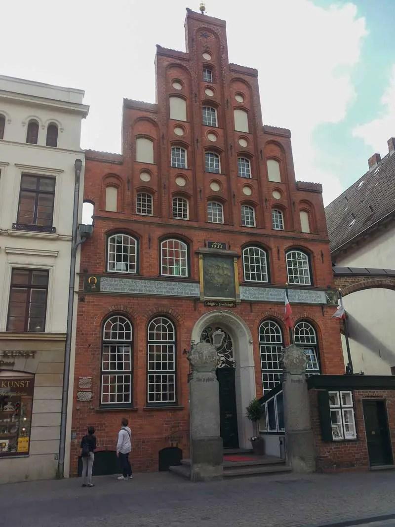 Lübeck Haus der Schiffergesellschaft
