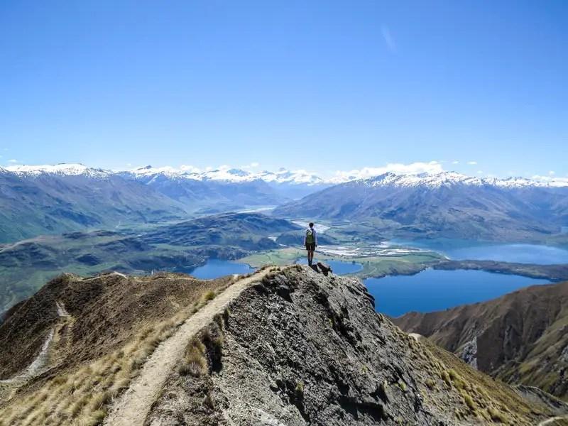 Neuseeland Wanderungen Roys Peak