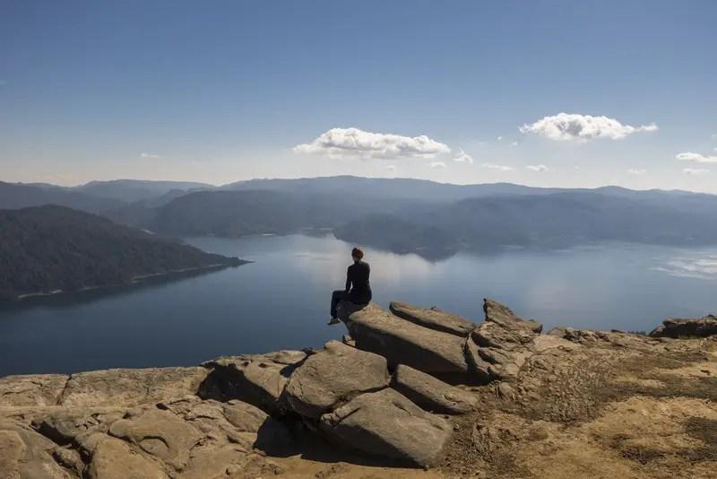 Nordinsel Neuseeland Lake Waikaremoana