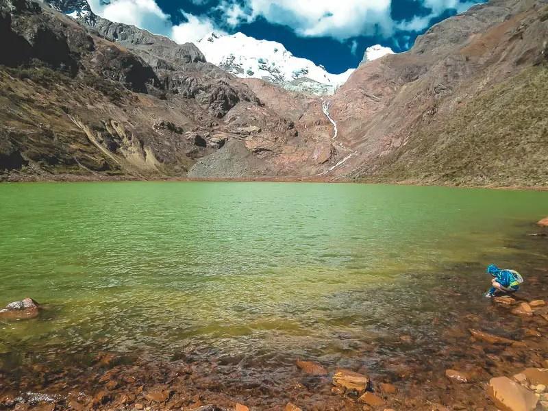 Peru Huaraz Laguna Shallap
