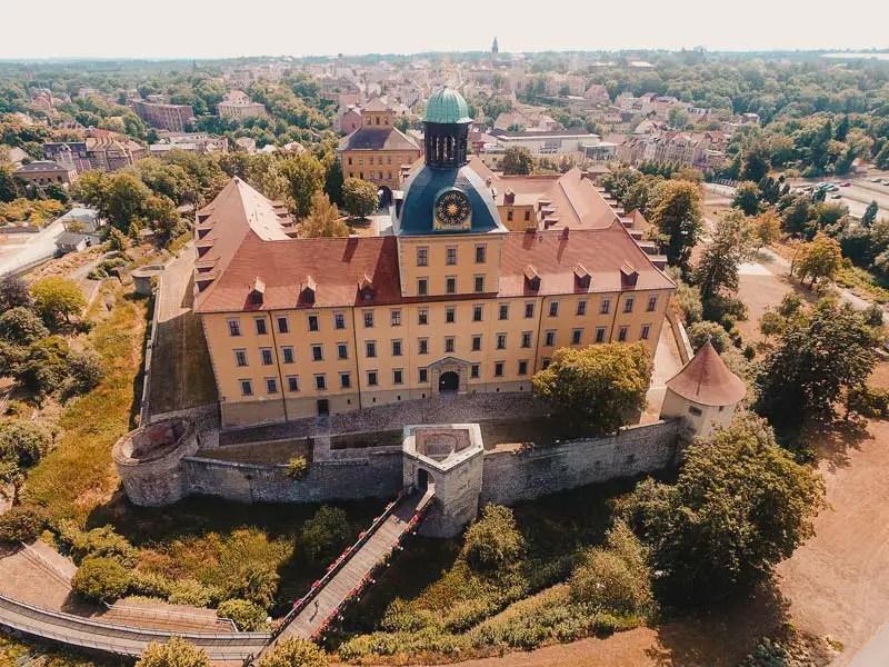 Sachen-Anhalt Sehenswürdigkeiten Schloss Moritzburg