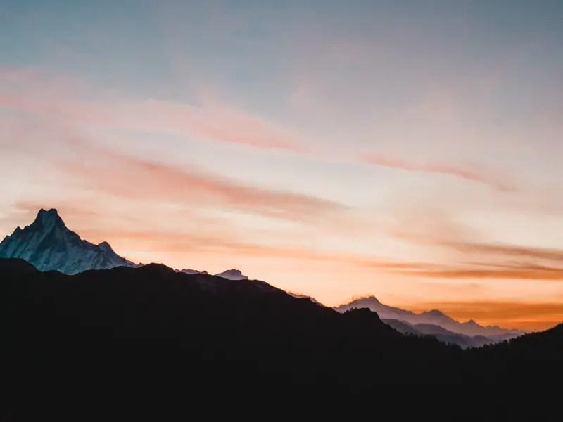 Annapurna Poon Hill Sonnenaufgang