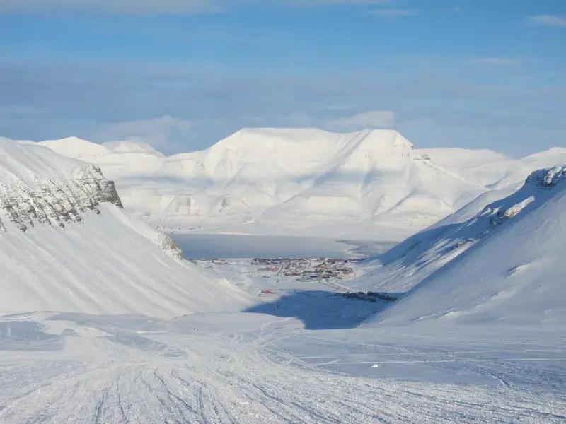Spitzbergen Berge