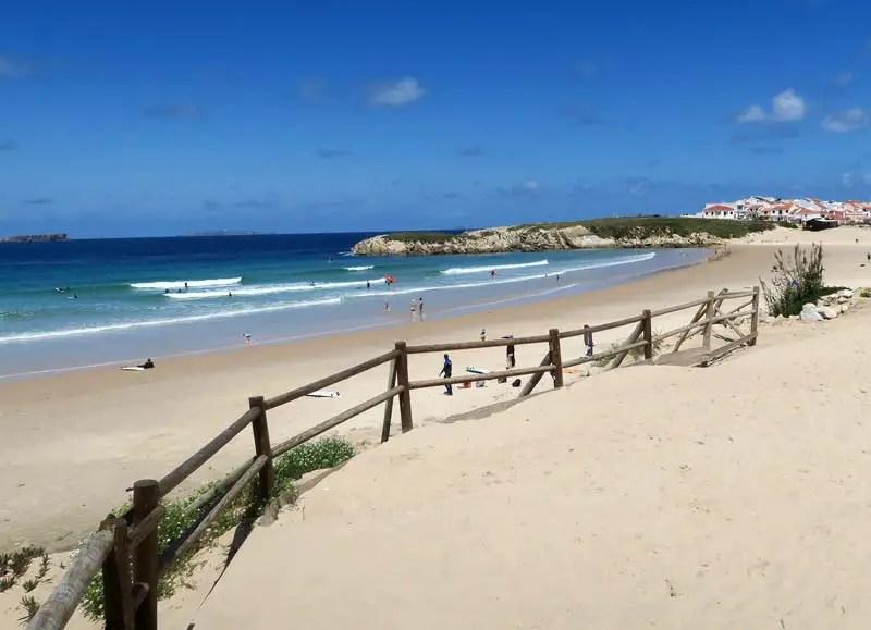 Surfen lernen in Portugal Peniche