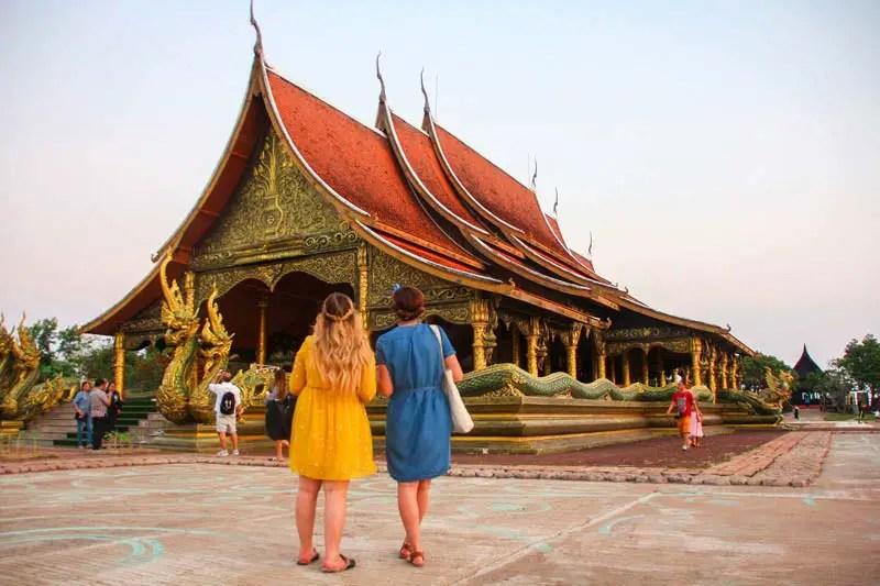 Thailand abseits des Massentourismus – ubon_ratchathani_wat_sirindhorn
