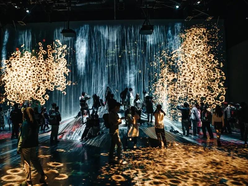 Digital Art Museum Tokyo – Tokio Reisetipps und Sehenswürdigkeiten in 3 Tagen