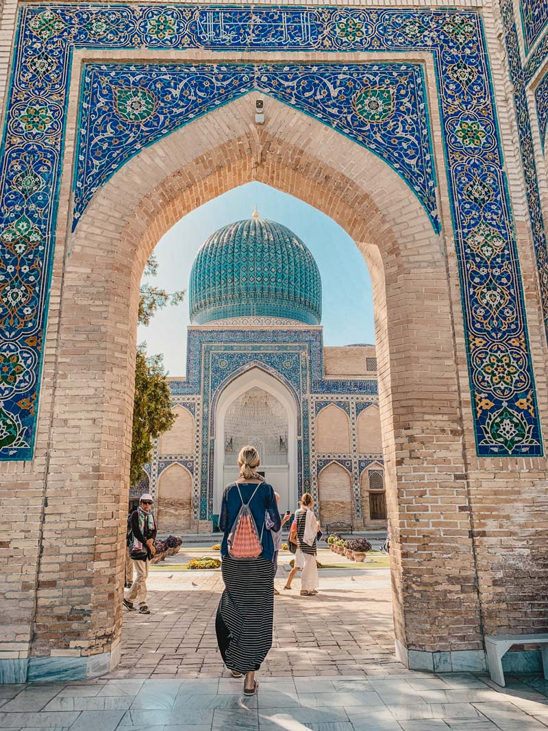 Usbekistan Rundreise Gur Emir Mausoleum