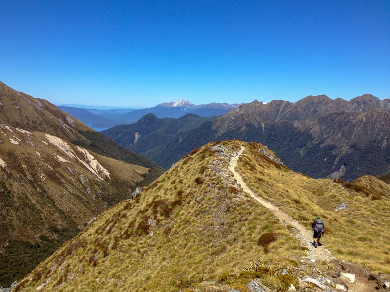 Wanderungen Neuseeland Kepler Track
