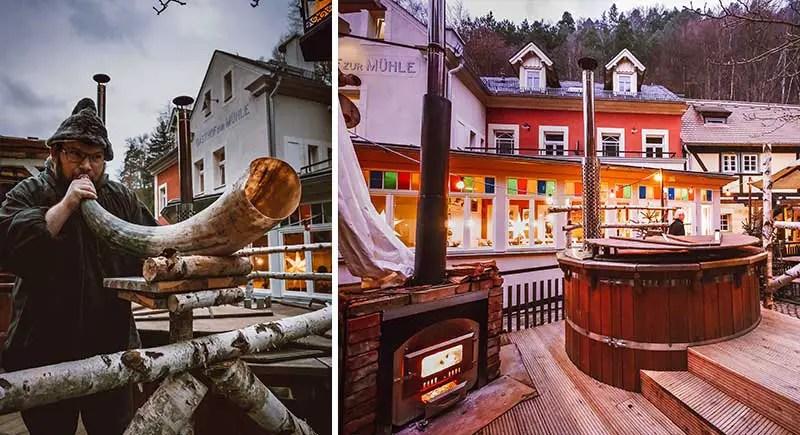 Winterdorf Schmilka