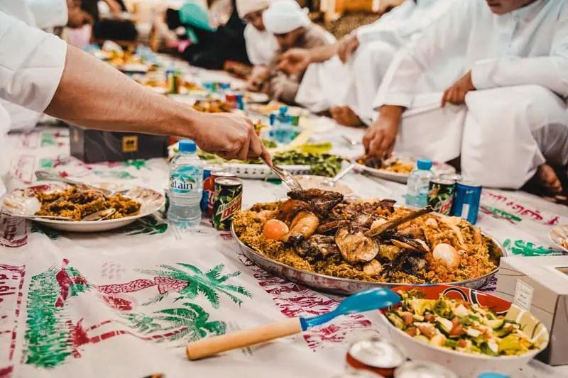 Abu Dhabi eten