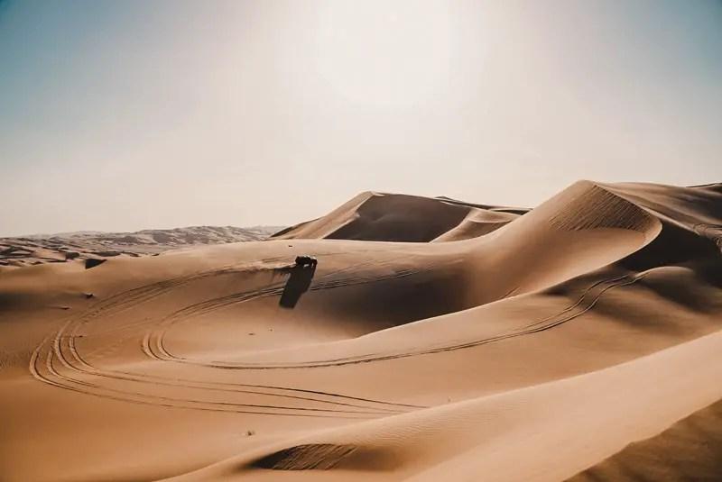 Desert Safari - Abu Dhabi Reisgids