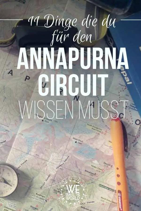 Nepal Trekking: Alle Informationen zum Annapurna Circuit in Nepal