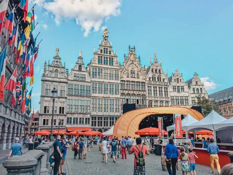 Grote Markt – Antwerpen Sehenswürdigkeiten