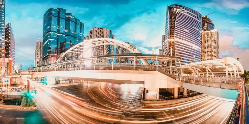 Bangkok Sehenswürdigkeiten Skywalk