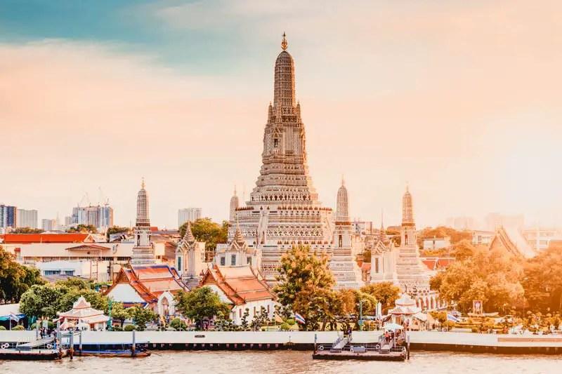 Bangkok Sehenswürdigkeiten Wat Arun