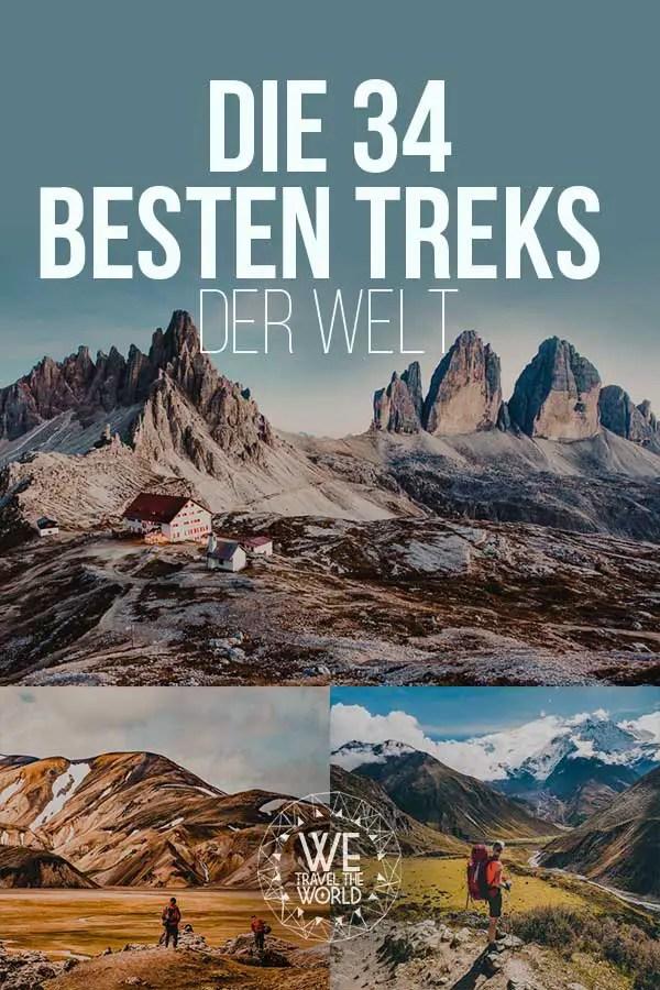Die besten und schönsten Treks der Welt #reiseziele #inspiration #wandern