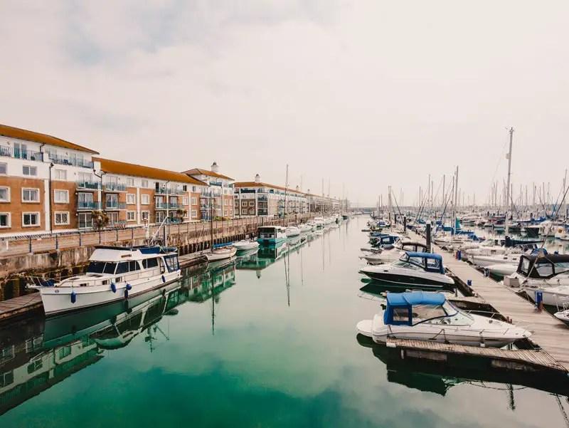Brighton Sehenswürdigkeiten Marina