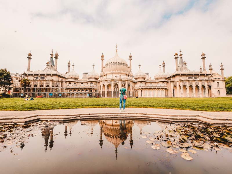 Brighton Sehenswürdigkeiten Royal Pavilion Palast Palace