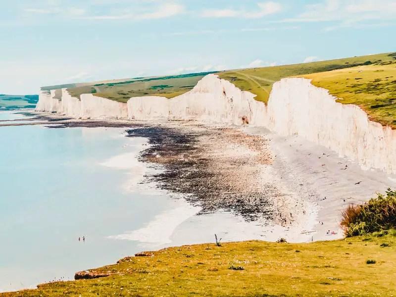 Brighton Sehenswürdigkeiten Seven Sisters Klippen Cliffs