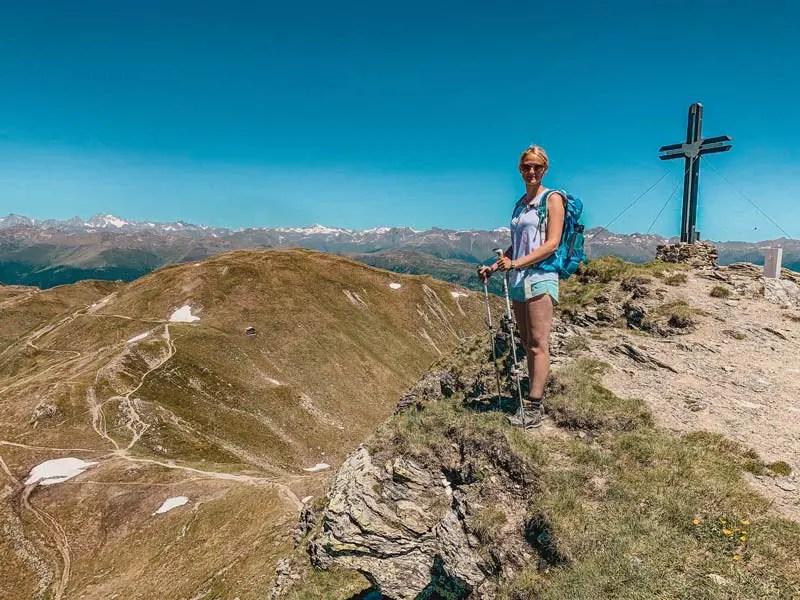 Gipfelkreuz Hornischegg