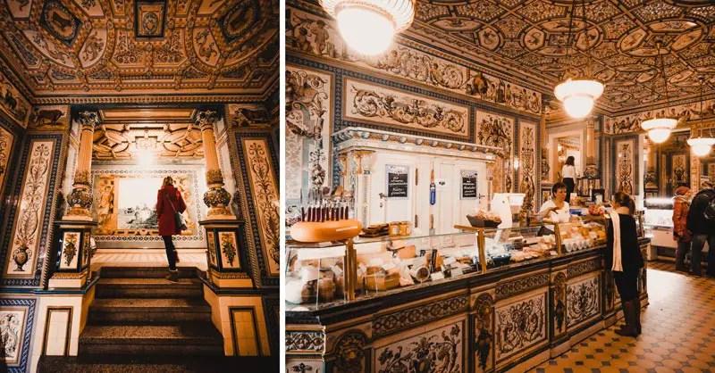 Dresden Sehenswürdigkeiten im Winter Pfunds Molkerei