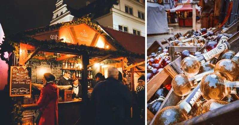 Dresden Sehenswürdigkeiten im Winter Weihnachtsmarkt Stallhof