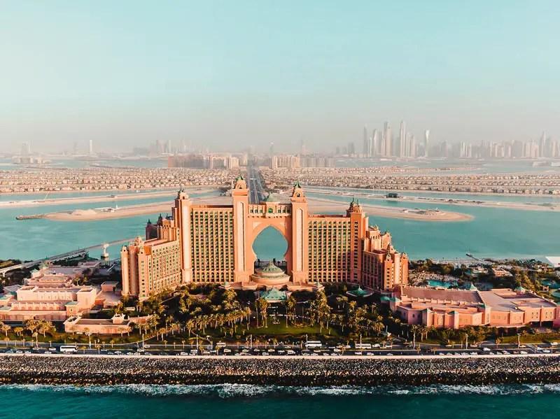 Dubai Aktivitäten Ausflüge Helikopter Rundflug