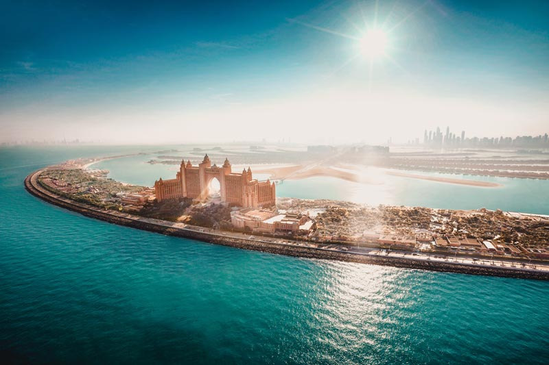 Dubai Hotels: Dubai schönste Hotels Atlantis The Palm