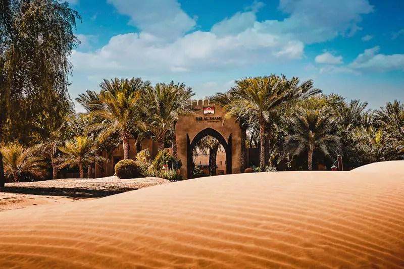 Dubai Hotels: Dubai schönste Hotels Bab al Shams Desert resort