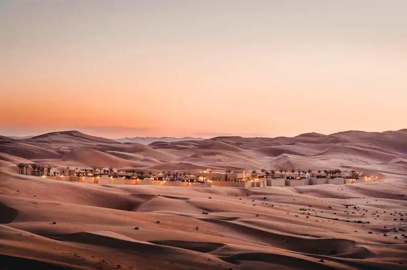 Dubai Hotels: Dubai schönste Hotels Qasr al sarab Abu Dhabi