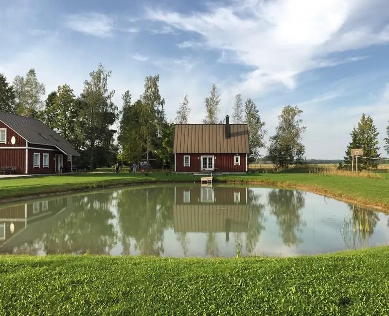 Estland Unterkünfte: Ferienhaus Ponka im Soomaa Nationalpark