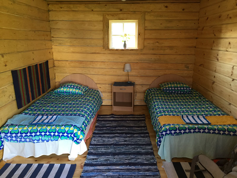 Estland Unterkünfte: Ferienhaus Praaga Hof Insel Prangli
