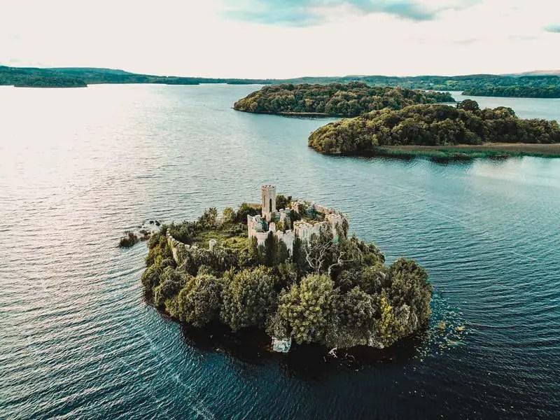 Lough Key Castle Island – Hausboot Irland Shannon Le Boat