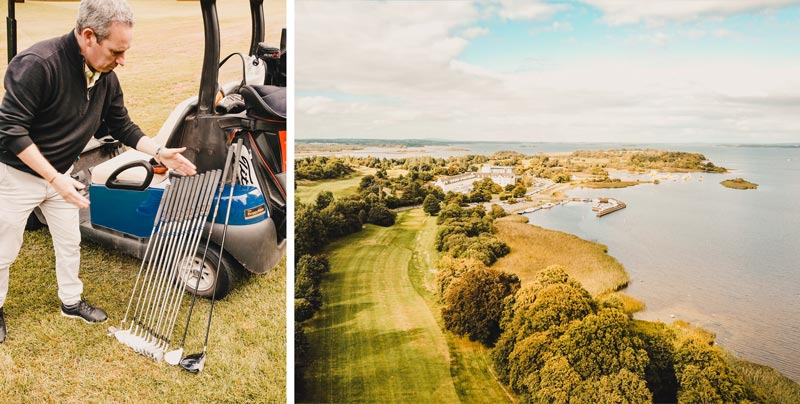 Athlone Golf Club – Hausboot Irland Shannon Le Boat