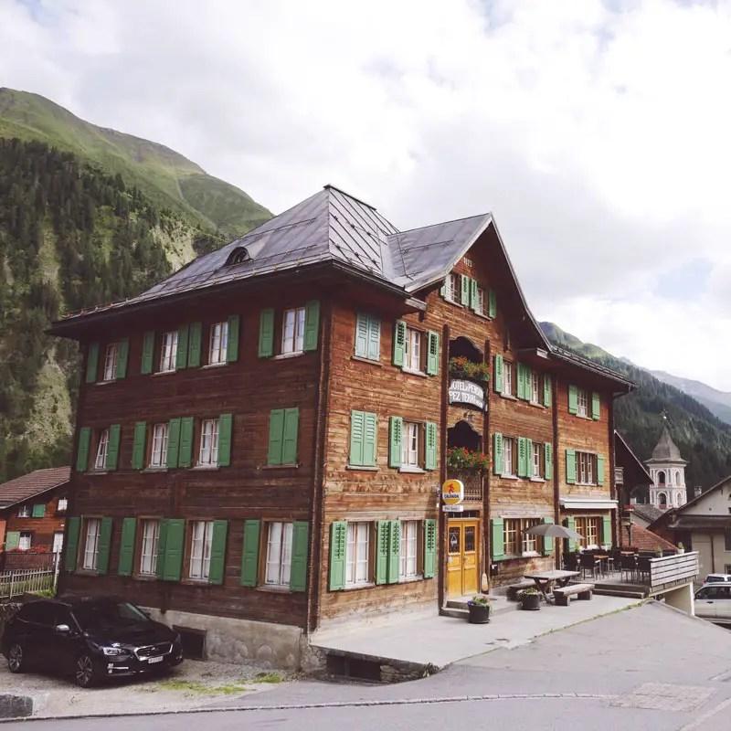 Hotel Pez Terri in Vrin