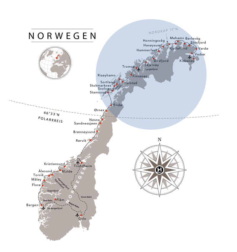 hurtigruten_route_