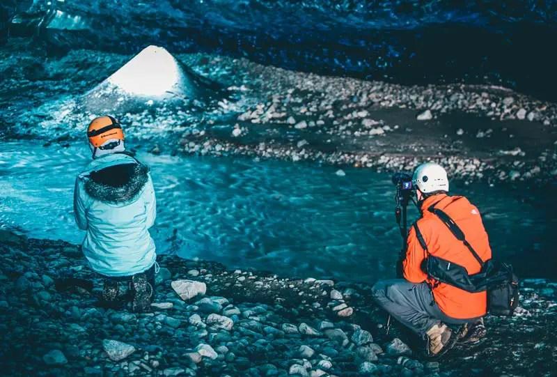 Island Eishöhlen Vatnajökull