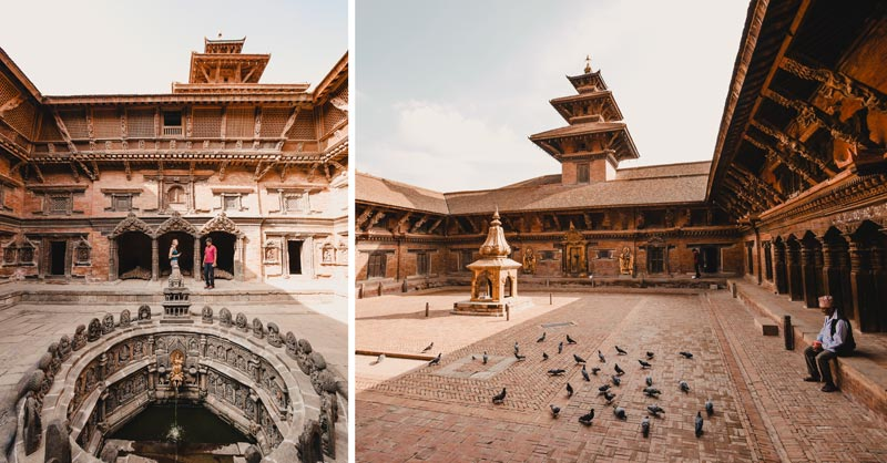 Kathamandu Sehenswürdigkeiten Patan City