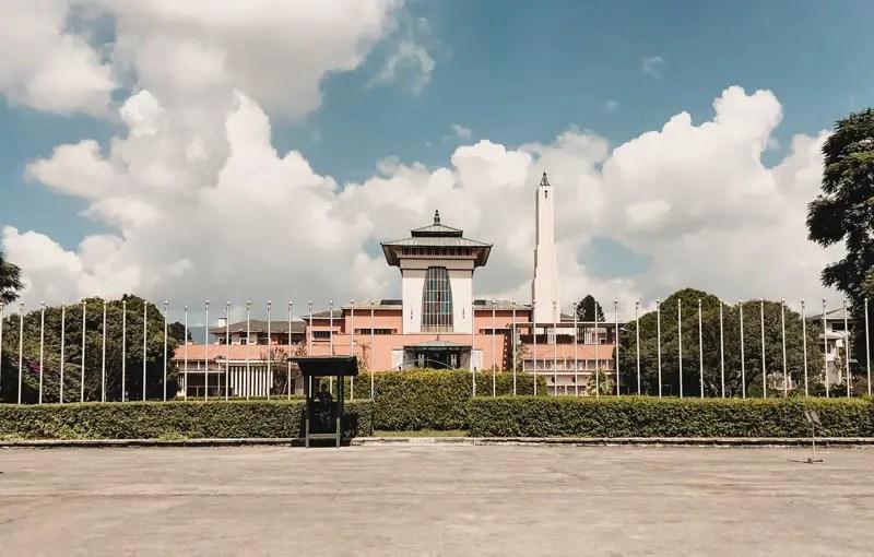 Kathmandu Sehenswürdigkeiten Narayanhiti Palast