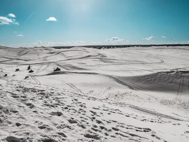 Australien Westküste Sandboarden Lancelin