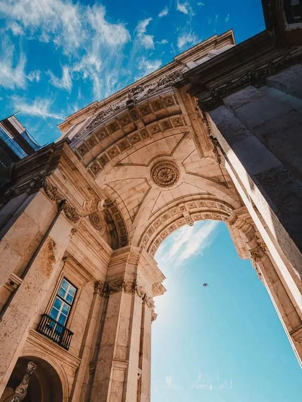 Arco da Rua Augusta – Lissabon Sehenswürdigkeiten