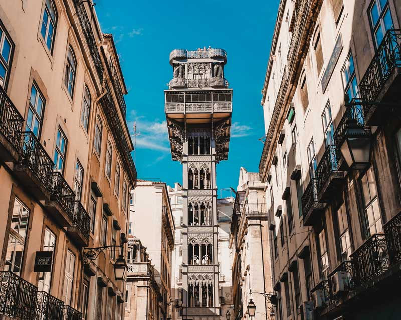 Elevador de Santa Justa – Lissabon Sehenswürdigkeiten