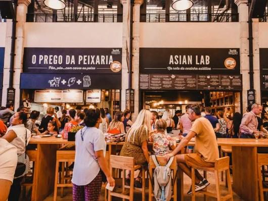Time Out Market – Lissabon Sehenswürdigkeiten