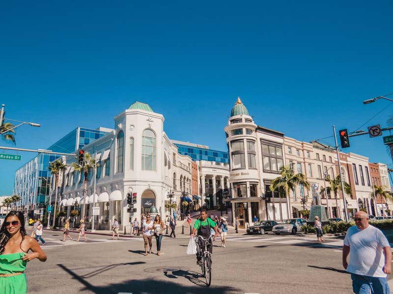 Rodeo Drive - Attracties in Los Angeles