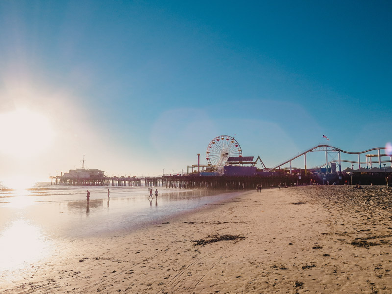 Santa Monica Pier - Attracties in Los Angeles