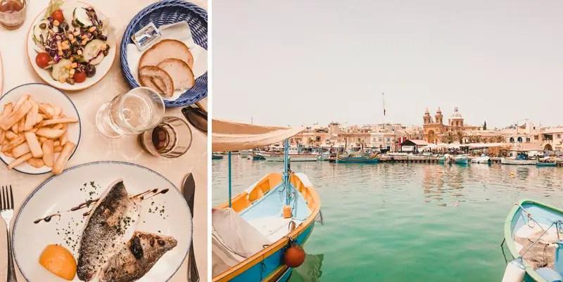 Malta Highlights Marsaxxlok