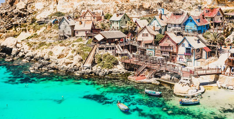 Malta Highlights Popeye Village
