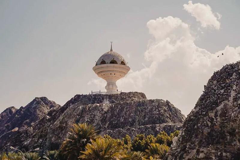 Riyam Monument – Maskat Sehenswürdigkeiten & Reisetipps