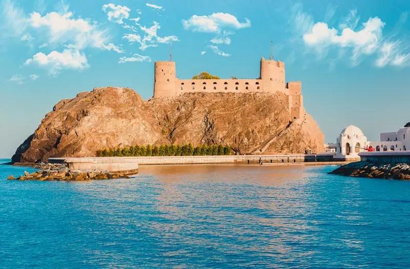 Al Jalali Fort – Maskat Sehenswürdigkeiten & Reisetipps