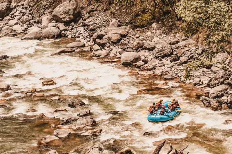 Nepal Sehenswürdigkeiten Rafting